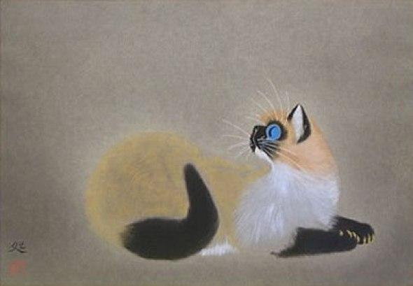 Young Cat, 1991, Matazo Kayama