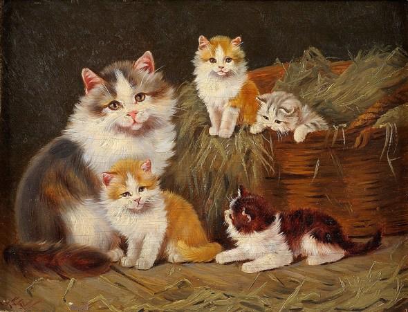Benno Kogl Cat family