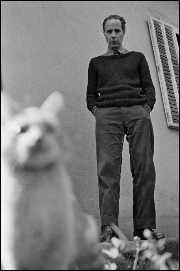Man with White Cat, Sergio Larrain 1957
