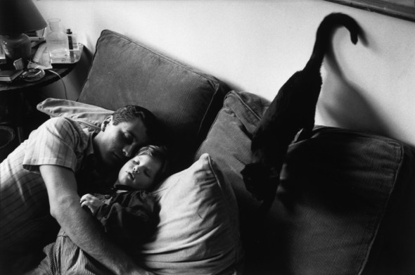 Richard Kalvar, Paris, Father and son taking a nap, 1982