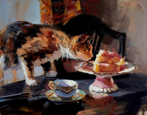 Jonelle Summerfield, Cat and Cake