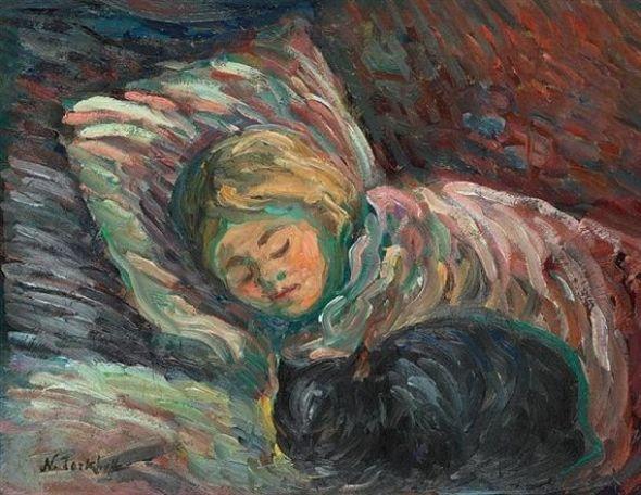 Nicholas Tarkhoff, Sleeping with a Black Cat