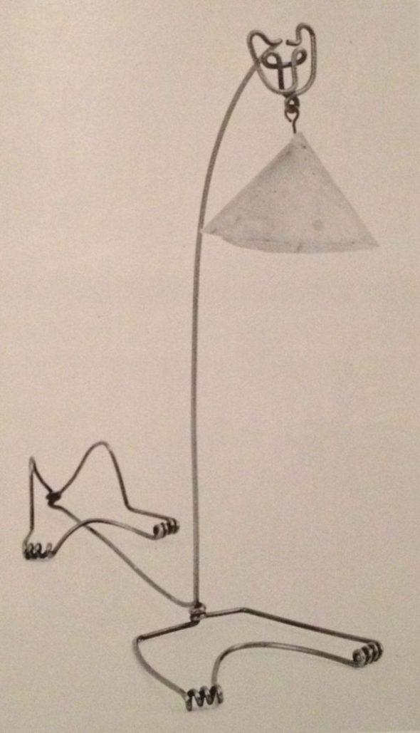 Alexander Calder, Cat Lamp, 1928