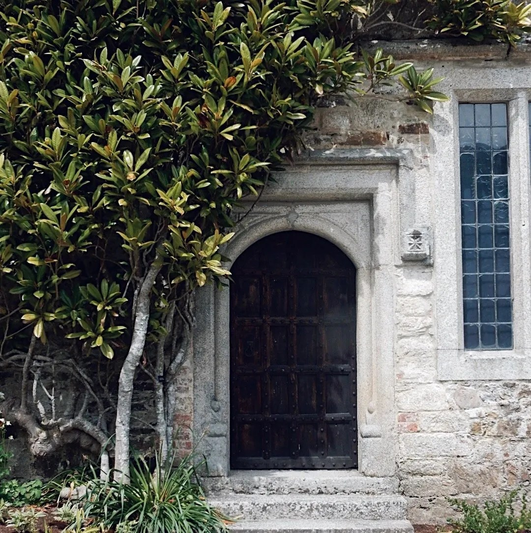 Doorway with climber