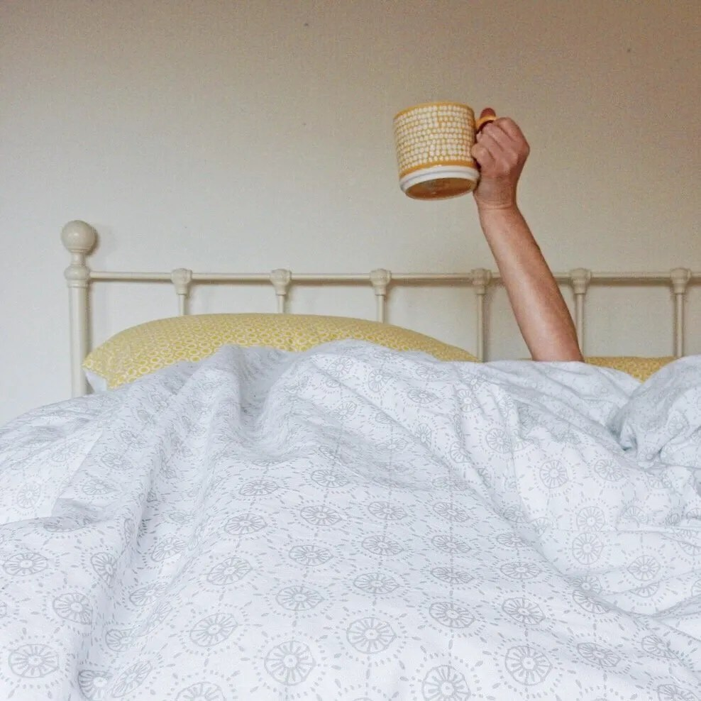 Perfect Slow Sundays Easy Sunday Weekend Breakfast in Bed Slow Living Coffee Tea