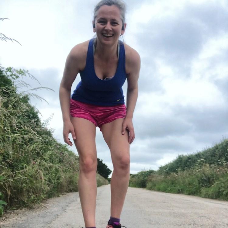 Woman Runner Smiling