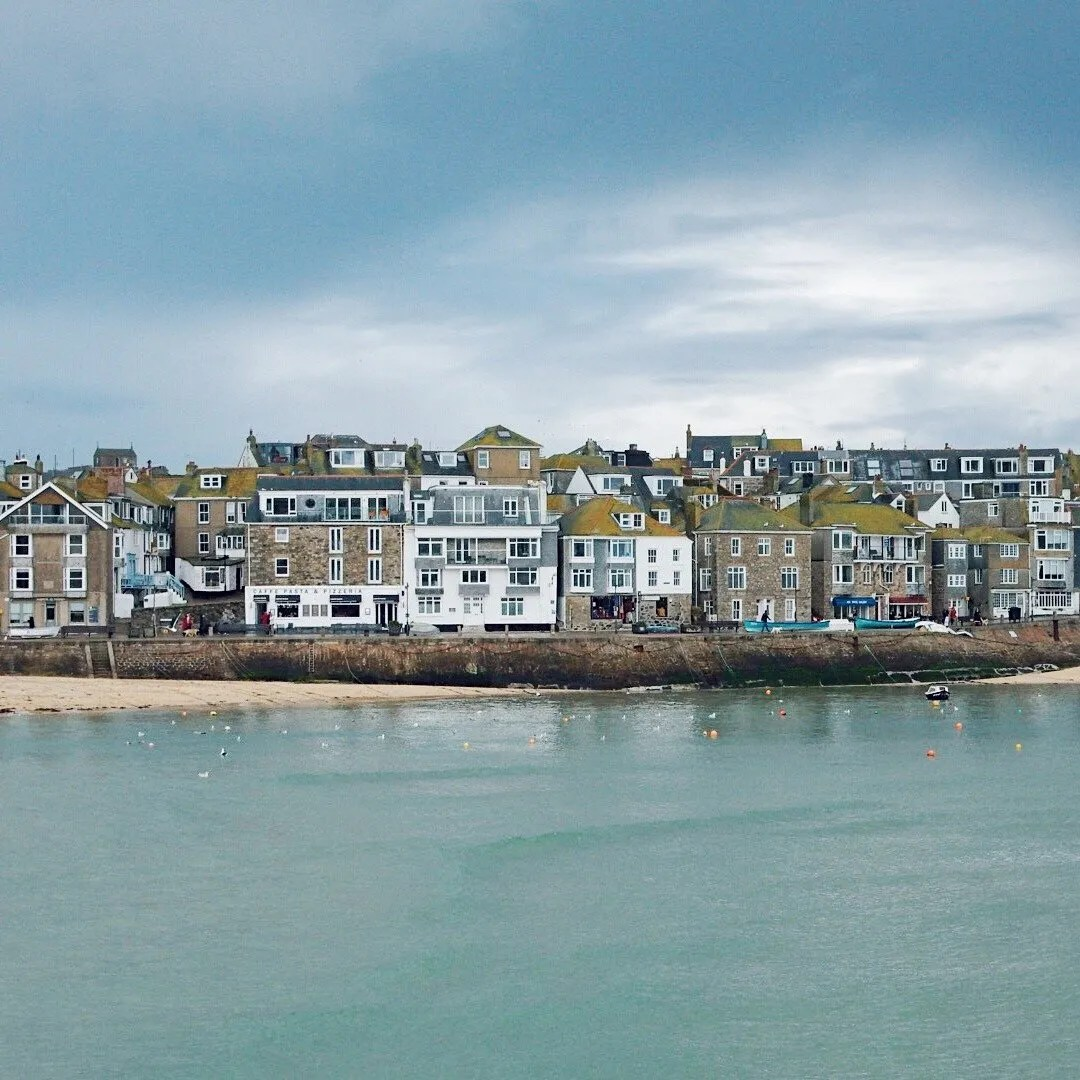 Houses on St Ives Seafront