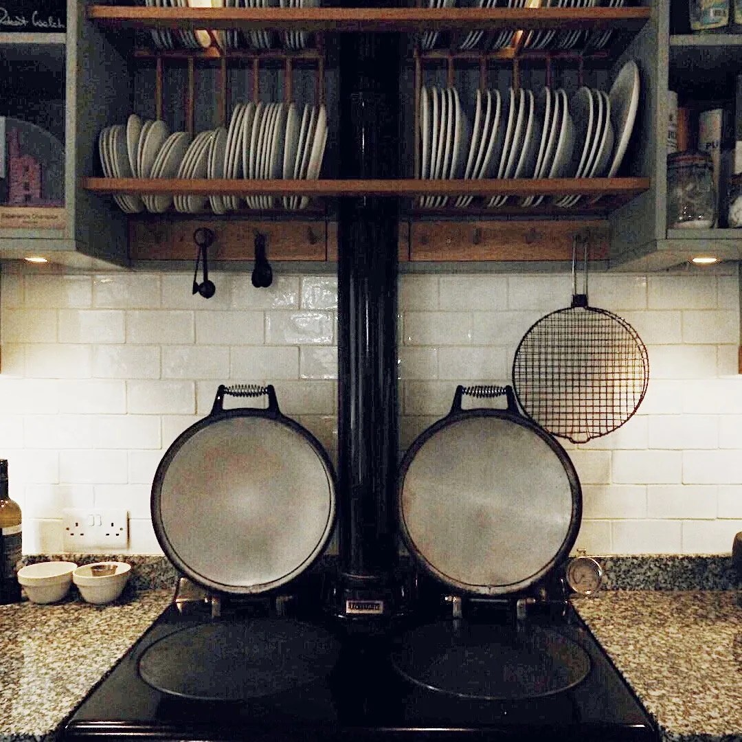 Aga in a Country Kitchen
