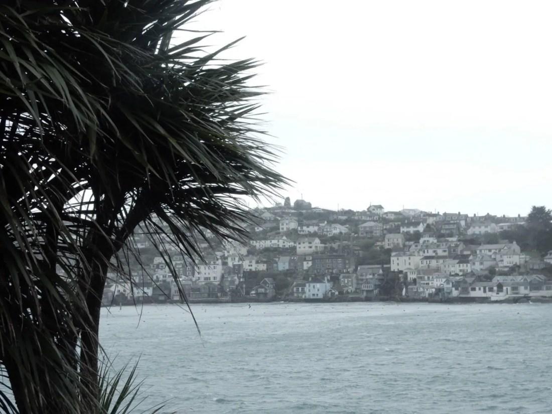 View of Polruan village from Fowey Esplanade