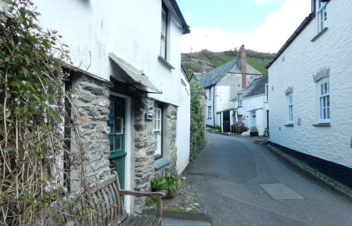 Traditional Cornish cottages in Port Issac