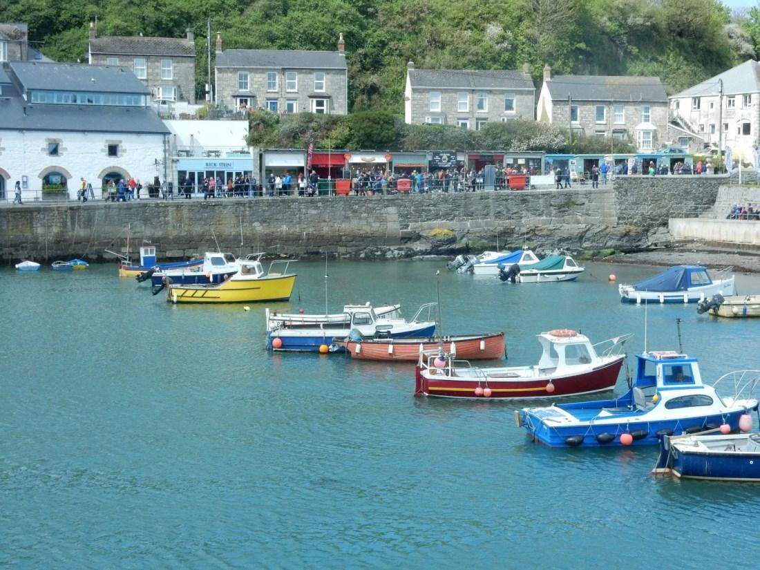 Porthleven Food Festival Harbour