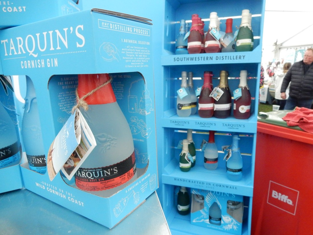 Tarquins Gin Porthleven Food Festival