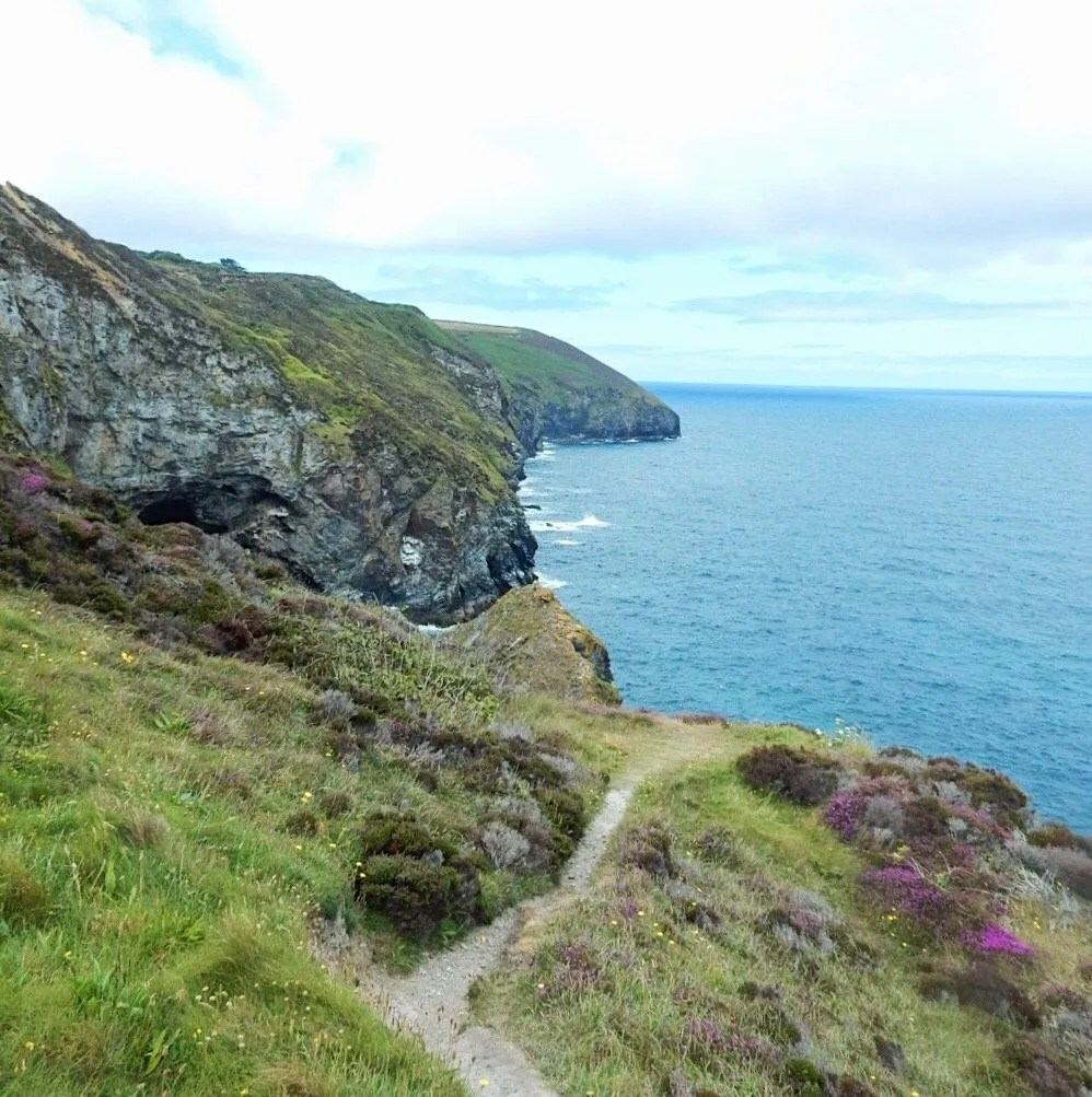 St Agnes coastpath and coastline