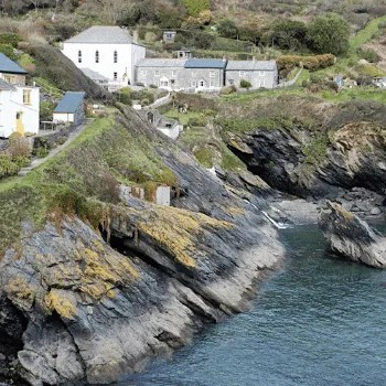 Portloe village Cornwall