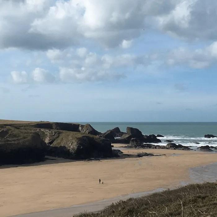 Porth Beach North Cornwall