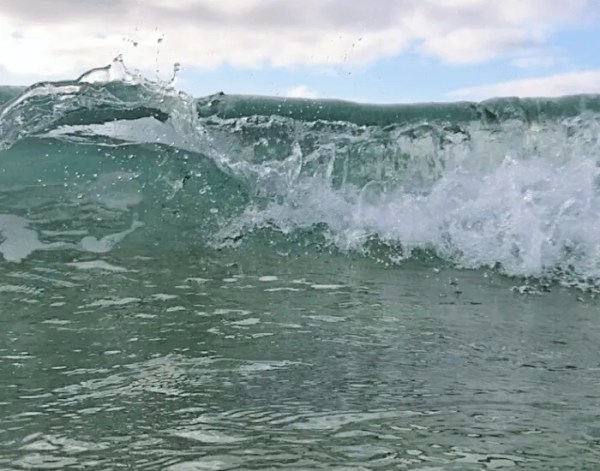 A rolling wave