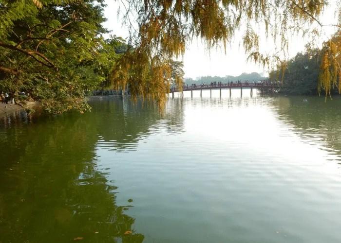 Hoi An city centre river or pond