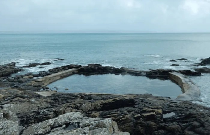Mousehole tidal pool