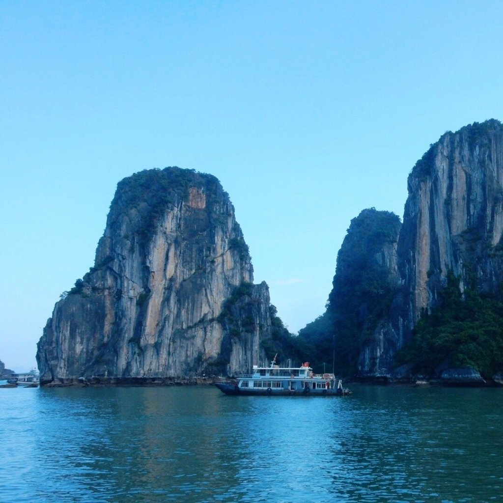 Travel itch for Ha Long Bay VIetnam