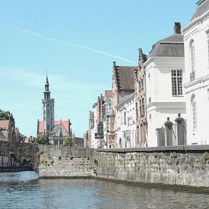 On the river with a travel itch in Bruges
