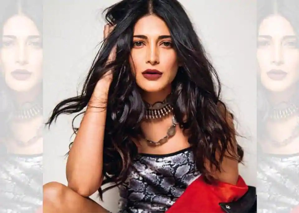 Almost one in three women today suffers from PCOS according to Shruti. Make-up: Vishruti Vinay; hair: Christiano Pereira; dress, Topshop; jacket, AllSaints; jewellery, Hewekkrybisbohre