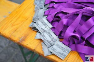 Basel Marathon 2016 Medals