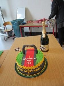 Så fin en kage har jeg aldrig fået før. Søde Lone Rosenkilde er verdens bedste kagebager. :)