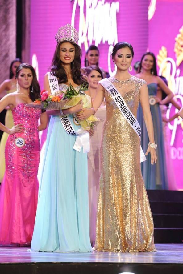Yvethe Marie Santiago Bb. Pilipinas 2014 Supranational