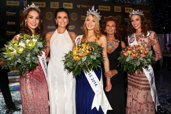 Miss Earth Czech Republic Nikola Buranská, Miss Universe Czech Republic Gabriela Franková and Miss Czech Republic World Tereza Skoumalová