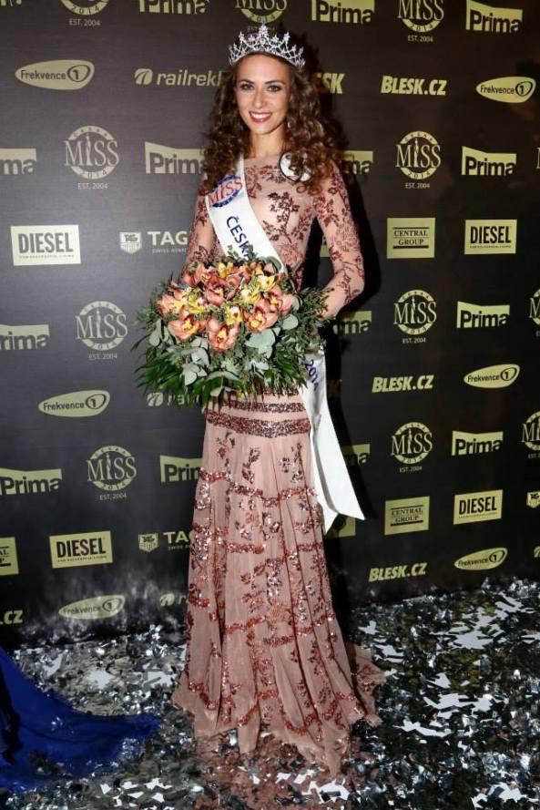 Tereza Skoumalová Miss World Czech Republic 2014