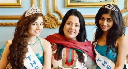 Swati Nanda is a student of Ritika Ramtri, The Tiara's Head
