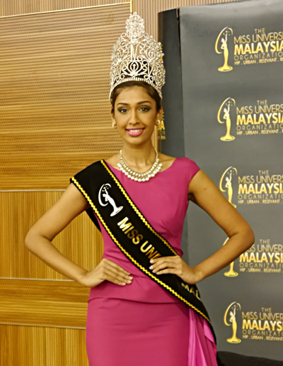 Sabrian Bennett, Miss Universe Malaysia 2014