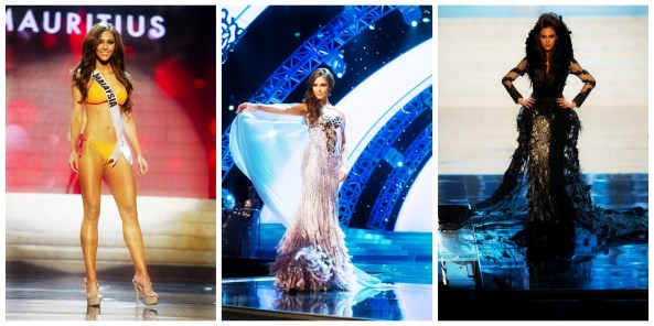 Kimberley Leggett's preliminary performance at Miss Universe 2012