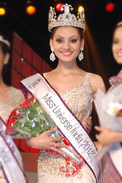 Tiara girl Urvashi Rautela missed a chance to participate in Miss Universe by whiskers.