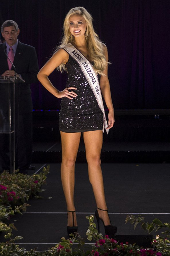 Jordan Wessel, Miss Arizona USA 2014