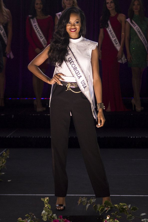 Tiana Griggs, Miss Georgia USA 2014