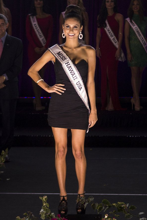 Moani Hara, Miss Hawaii USA 2014