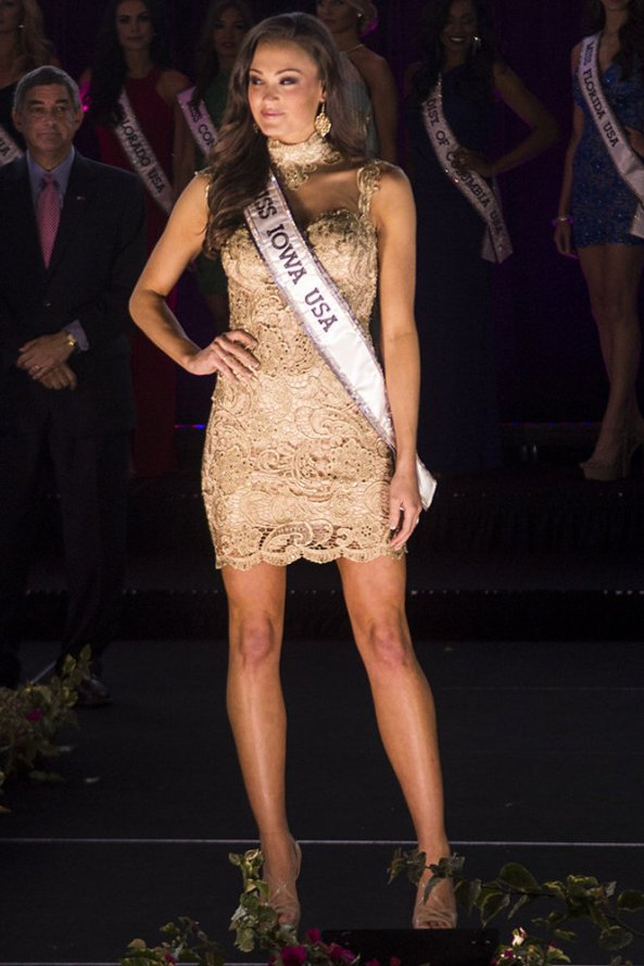 Carlyn Bradarich, Miss Iowa USA 2014