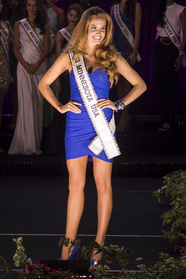 Haley O'Brien, Miss Minnesota USA 2014