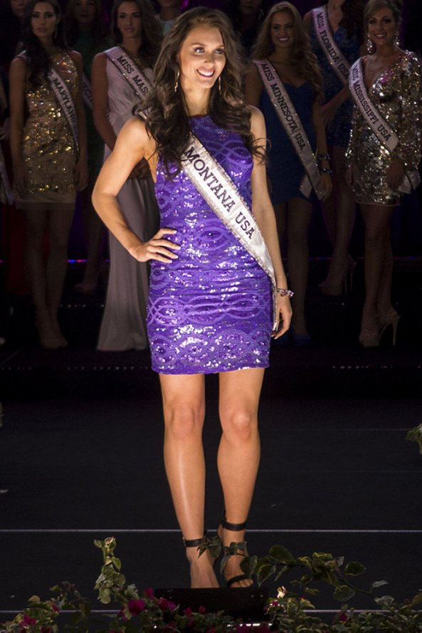 Kadie Latimer, Miss Montana USA 2014