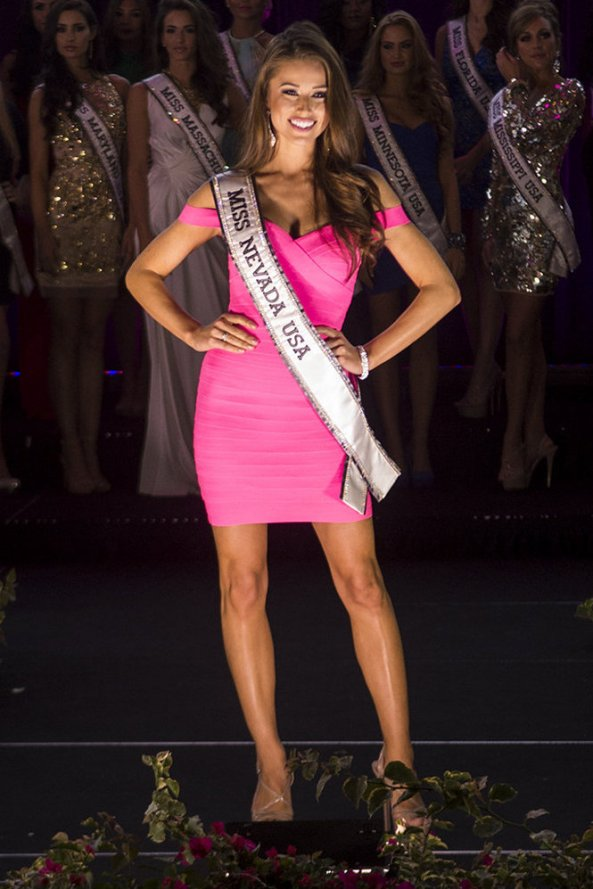 Nia Sanchez, Miss Nevada USA 2014