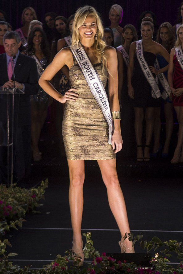 Christina Zapolski, Miss South Carolina USA 2014