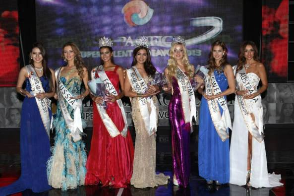 Miss Asia Pacific World 2013 Winner and Runners up