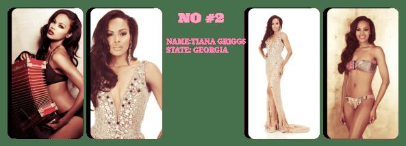 Miss  GeorgiaUSA 2014 ~  Tiana Griggs