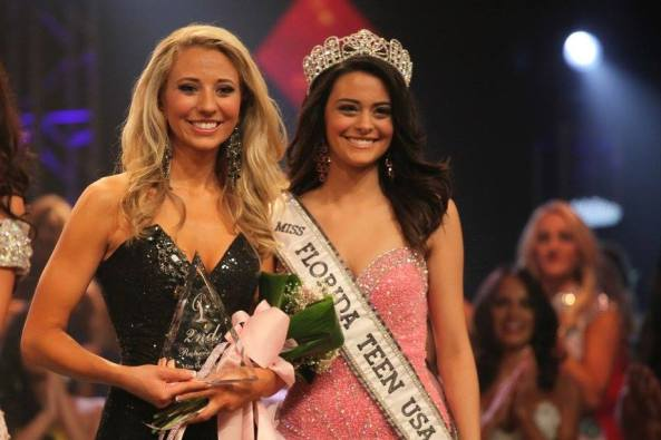 essica Voigt was announced second runner up at finals for the Miss Florida USA 2015