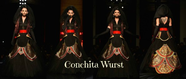 Conchita Wurst is a 25 year Old Singer from Austria who won Eurovision Contest last year.