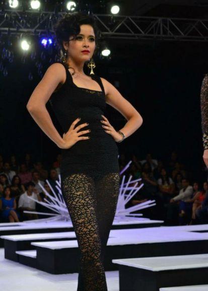 Shilpa as a show stopper in Neta Lula's Fashion Show