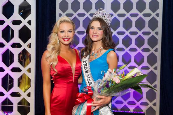 Miss Teen USA 2013 Cassidy Wolf & miss Teen USA 2014 K. Lee Graham