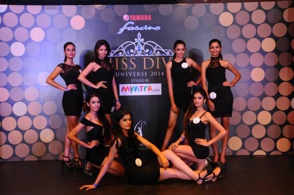 (Top l-r Noyonita Lodh, Veena Singh, Rakshitha Harimurthy, Jeevana Vishwanathan Lower l-r Monisha Ramesh, Asha Bhat and Niddhi Agerwal)