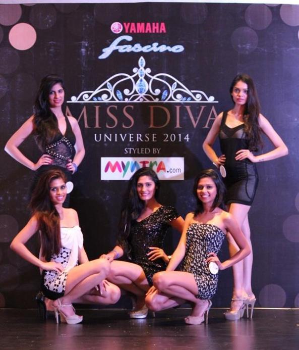 l- r top - Chahat Dalal, Priya Da Silva l- r bottom - Anamika Pippal, Swati Mishra, Meghana Mittal